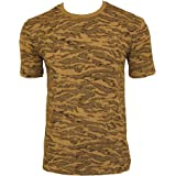 Mil-Tec Airforce Desert Pattern Camouflage T-Shirt Modern Army Camo Top