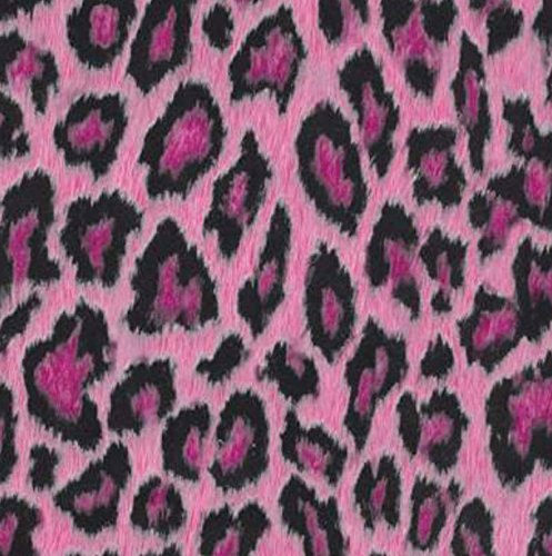 Klebefolie - Möbelfolie Leopard Pink - 45 cm x 200 cm Animal Print - Dekorfolie