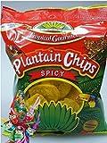 [ 10x 85g ] TROPICAL GOURMET Bananen Chips [ Spicy (scharf) ] aus Ecuador + ein kleines Glückspüppchen - Holzpüppchen