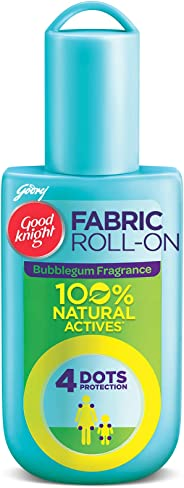 Goodknight 100% Natural Mosquito Repellent Fabric Roll On (Fragrance - Bubble gum)8ML