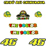 Pegatinas Tribu Chihuahua Rossi VR46 R328 Stickers AUFKLEBER Decals AUTOCOLLANTS ADESIVI