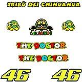 Pegatinas Tribu Chihuahua Rossi VR46 R328 Stickers AUFKLEBER Decals AUTOCOLLANTS ADESIVI