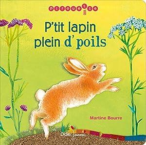 vignette de 'P'tit lapin plein d'poils (Martine Bourre)'