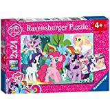 Ravensburger Puzzle 09105 - My little Pony Liebe, 2 x 24 Teile