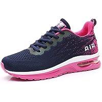 AFFINEST Donna Uomo Scarpe da Ginnastica Scarpe da Corsa Sportive Fitness Running Air Sneaker Basse Interior Casual all…