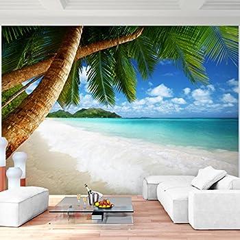 Fototapete (97019) SEYCHELLES PALM BEACH Verschiedene Bild