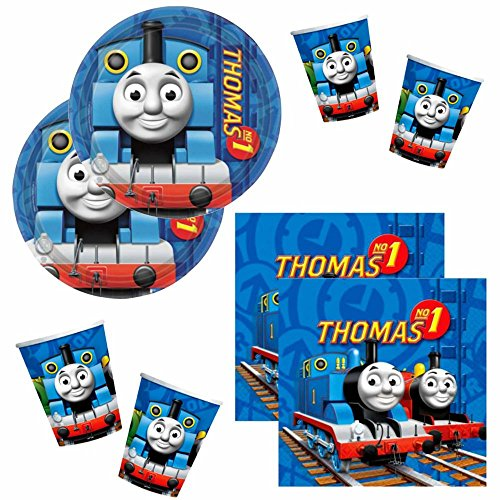 Thomas et ses Amis - Party Anniversaire Set Party Vaisselle - Thomas & Friends