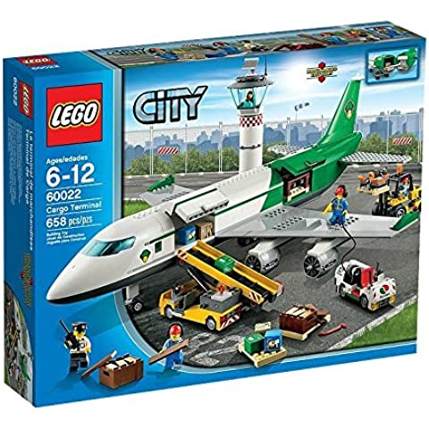 LEGO City Airport 60022 - Terminal Merci, 6-12 Anni
