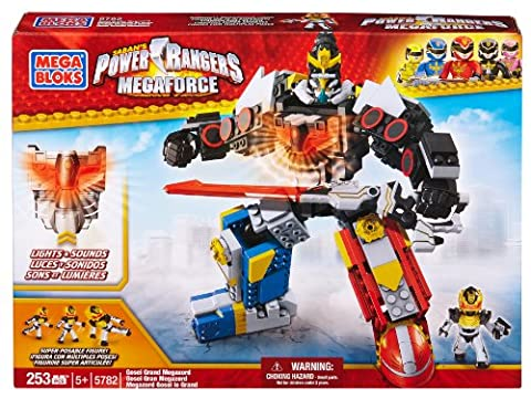 Mega Bloks - Power Rangers Mega Force - Gosei Grand MegaZord