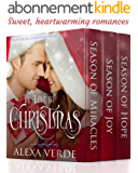 In Love by Christmas: Three Sweet, Clean, and Heartwarming Christian Romances (English Edition)