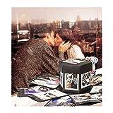 Explosion Box Scrapbook Creative DIY Photo Album Caja de regalo Creative Explosion Love Memory DIY Álbum de fotos como regalos de aniversario de cumpleaños, una sorpresa sobre el amor aniversario, día de San Valentín y regalo de boda