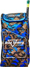 HeadTurners Cricket Kit Bag Individual Back Pack Style- Kit Bag only-Camo Design