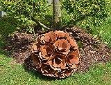 Edelrost Blume/Blumenkugel