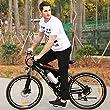 Ancheer Elektrofahrrad 26 Zoll Elektrisches Mountainbike E-Bike Pedelec 250W Hochgeschwindigkeit-Zahnrad -Motors E-Fahrrad mit Abnehmbarer Lithium-Batterie Schwarz & Rot from Ancheer
