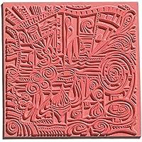 efco 9500507 Texturmatte, Naturkautschuk, 9 x 9 x 0,3 cm, braun