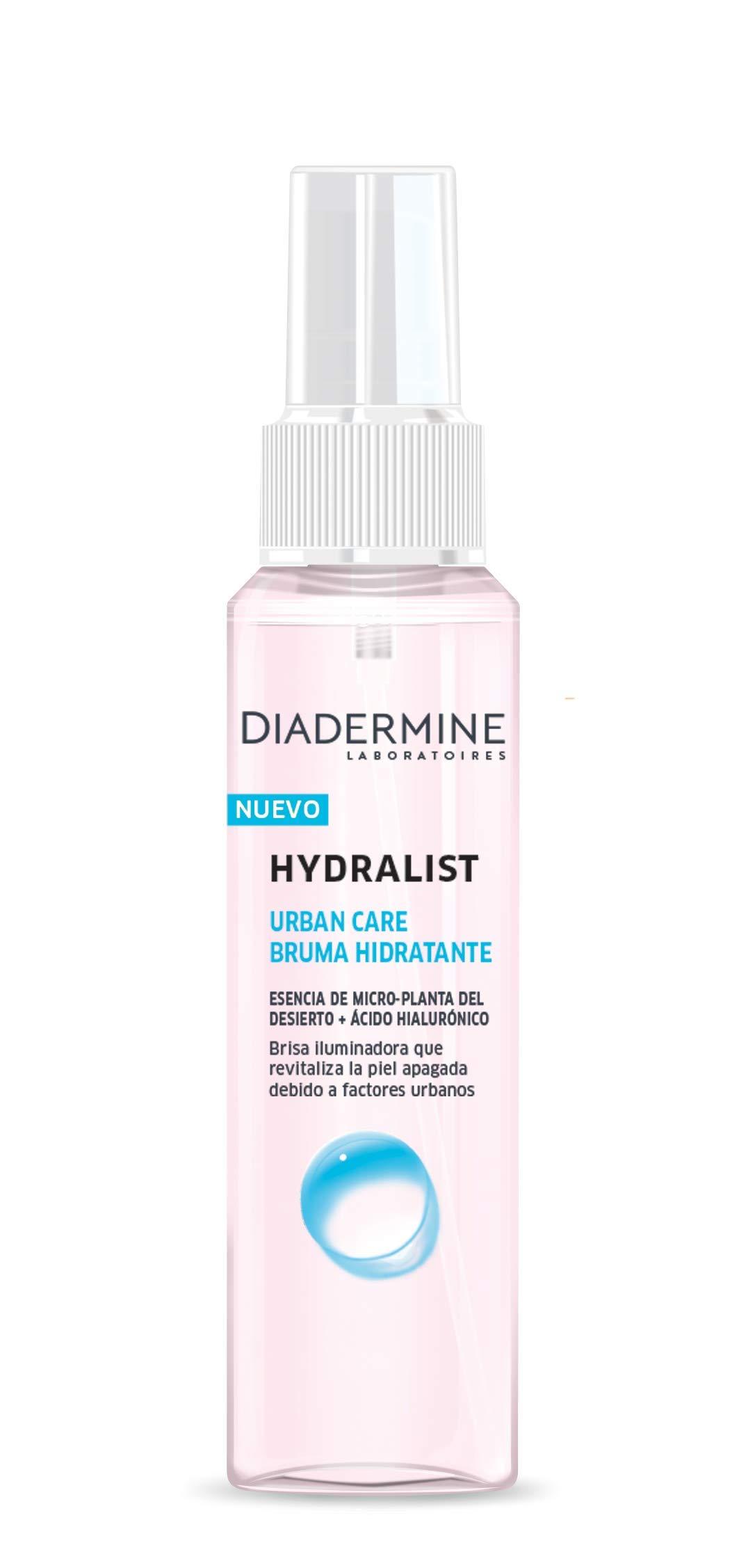 Diadermine – Pack Hydralist Urban Care, Crema de Día + Bruma Hidratante, 150 ml (50 ml + 100 ml)