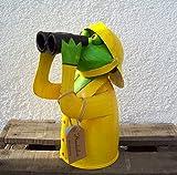 Unbekannt Zaunhocker Regen Frosch mit Fernglas