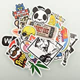 HANIB (100 stück) Zufällig Musik Film Vinyl Skateboard Snowboard Sticker Graffiti Laptop Koffer Auto-fahrrad Fahrrad Aufkleber mix Viele Pack aufkleber