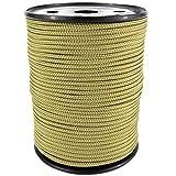 PP Seil Polypropylenseil SH 2mm 100m Farbe Gold (1345) Geflochten