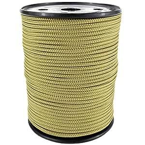 PP Seil Polypropylenseil SH 3mm 100m Farbe Gold (1345) Geflochten