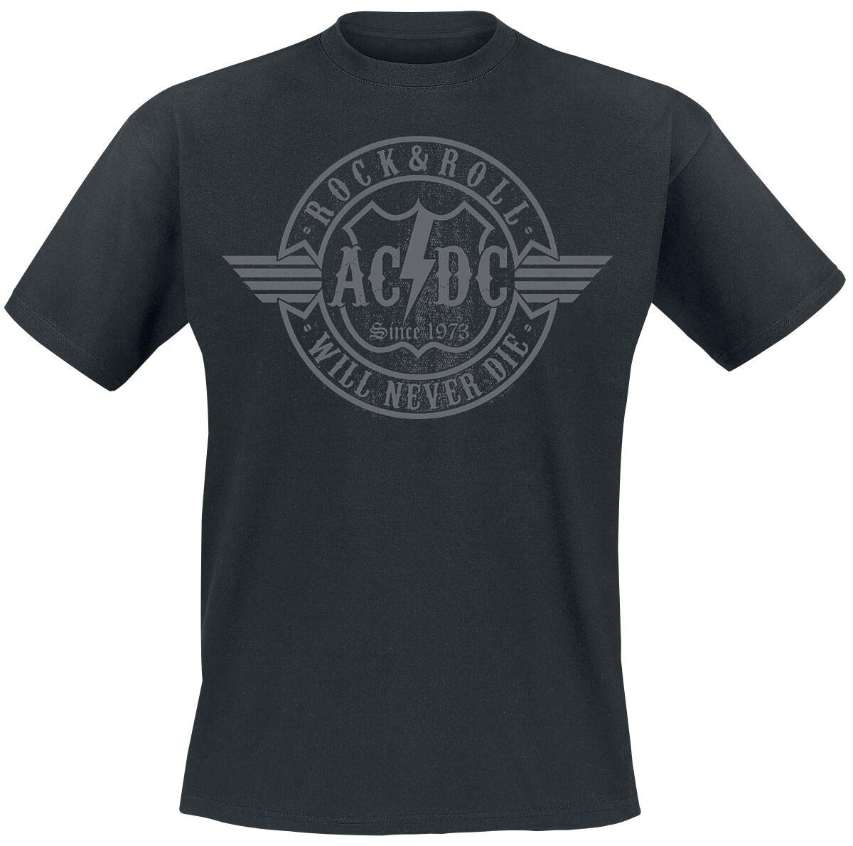 AC/DC Rock & Roll – Will Never Die T-Shirt Black