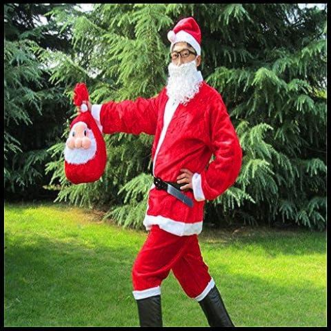 KMDJ Ornamenti natale Santa regalo di Natale ornamento di Natale #18A