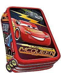 Karactermania 33655 Cars 3 Race Estuches, 21 cm, Rojo