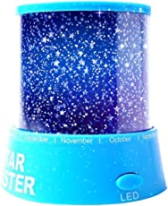 Aeeque LED Star Projector Night Light Amazing Lamp Master For Kids Bedroom Home Decoration With USB Cable, Blue