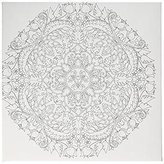 Art Alternatives Johanna Basford Magical Jungle Coloring Canvas-Butterfly Mandala