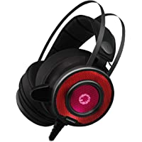 GameMax G200 Pro RGB Cuffie da Gaming Over-Ear Headset con Microfono Driver Audio da 50 mm Illuminazione RGB
