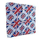 Bandana con la bandiera Union Jack Bandana, fazzoletto. 55cm x 55cm in poliestere per festeggiare il patrimonio britannico.