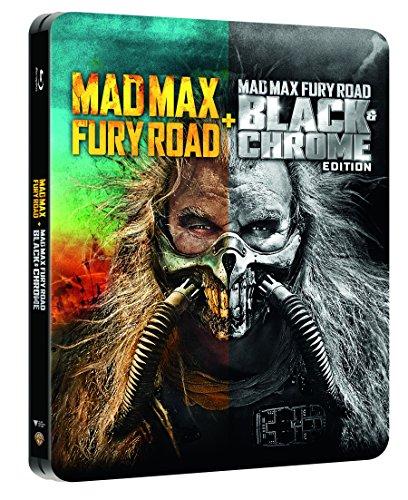 Mad Max Fury Road + Black&Chrome Edition Steelbook (Blu-Ray) [Italia] [Blu-ray]
