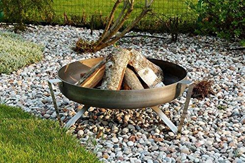 *Feuerschale Ø63cm Feuerstelle Terrassenfeuer Feuer Stahl VOMA*