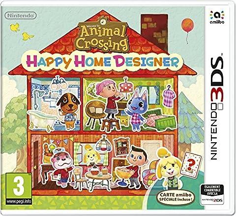 Animal Crossing : Happy Home Designer + 1 Carte Amiibo