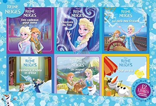 La Reine des Neiges : 12 livres : 6 histoires + 6 coloriages