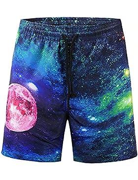 GXSCE Troncos de natación casuales de la moda, pantalones cortos de playa, pantalones cortos personalizados, pantalones...