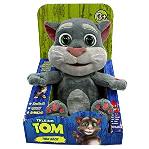 fibrionic peluche talking tom le chat qui parle jeux et jouets. Black Bedroom Furniture Sets. Home Design Ideas