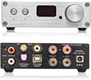 FX-Audio D802C PRO Audio Power Amplifier Wireless Bluetooth 4.2 Support APTX NFC USB/AUX/Optical/Coaxial Pure Digital Audio A