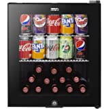 Baridi Mini Wine/Drink/Beverage Cooler/Fridge, Built-In Thermostat, LED Light, Security Lock, Energy Class A+, 46 Litre…