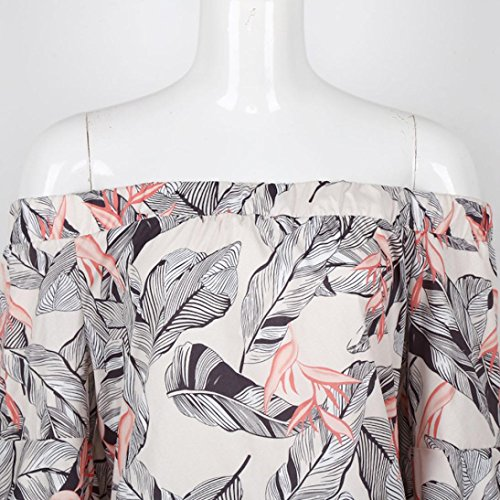 Xshuai Frauen-Sommer-Boho-Abend-Partei-reizvolles Minikleid-Strand-Kleid Sundress Mehrfarbig