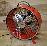 Best King Electric Tower Fans - Kingfisher Limitless Turbo Fan, 10 Inch, Red Review