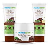 Mamaearth Coco Intense Skin Awakening Kit (CoCo Face Wash 100ml + CoCo Face Mask 100g + CoCo Face Scrub 100g)