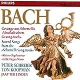 Bach Js-Recueil de Schemellis-Chorals Orgue-Schreier-Koopman