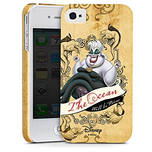 Apple iPhone X Silikon Hülle Case Schutzhülle Disney Arielle die Meerjungfrau Ursula Geschenke Merchandise Premium Case glänzend