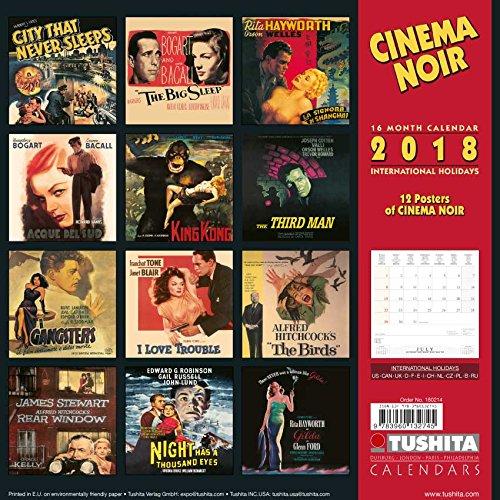 Cinema Noir 2018 (Media Illustration)