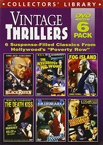 Preisvergleich Produktbild Black Raven / Bluebeard / Bowery At Midnight (6pc) [DVD] [Region 1] [NTSC] [US Import]