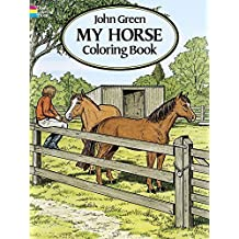 My Horse Coloring Book by John Green (1994-04-26)