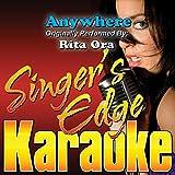 Anywhere (Originally Performed by Rita Ora) [Instrumental]