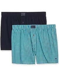 Tommy Hilfiger Men's 2P Woven Boxer Shorts