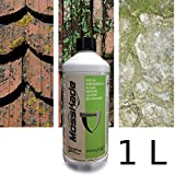 MossKade ANTIMUSCHIO per prati Biogard contro alghe muschio e licheni